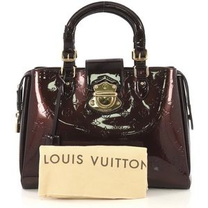 Louis Vuitton Melrose Avenue Handbag Mono Vernis